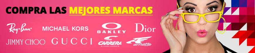 Compra las mejores marcas: Ray-ban, Michael Kors, Oakley, Dior...