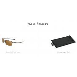 Oakley Square Wire OO4075-407506
