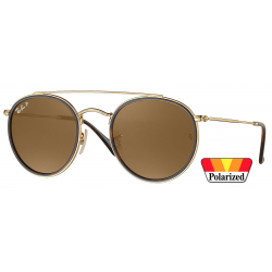 Ray-Ban Round Double Bridge RB3647N-001/57