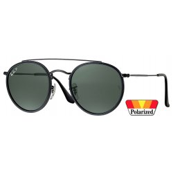 Ray-Ban Round Double Bridge RB3647N-002/58