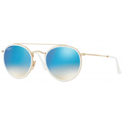 Ray-Ban Round Double Bridge RB3647N-001/4O
