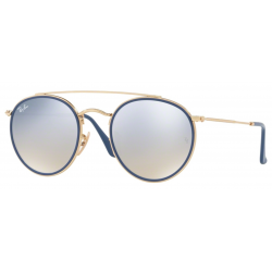 Ray-Ban Round Double Bridge RB3647N-001/9U